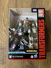 New listing Transformers Studio Series #65 Blitzwing Takara Hasbro - In Hand