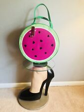 💋Luv Betsey Johnson Watermelon I'm One In A Melon Insulated Cooler Bag Tote XL
