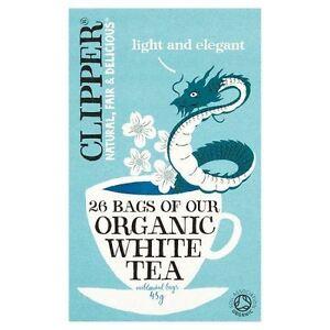 Clipper Tea Bags Organic White Tea 26 Bags