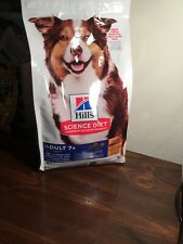 Hill's Science Diet Dry Dog Food, Adult 7+ Chicken Meal, Barley & Brown Rice