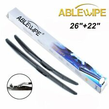 ABLEWIPE Windshield Wiper Blades Fit For Lexus RX450h RX400h RX350 RX330 Hybrid