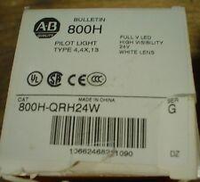 Allen Bradley 800H-QRH24W pilot light - NIB - 60 day warranty