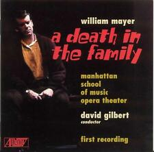 ██ OPER ║ William Mayer (*1925) ║ A DEATH IN THE FAMILY ║ 2CD