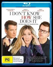 I Don't Know How She Does It (Blu-ray, 1 Disc*terrific Condition*Pierce Brosnan