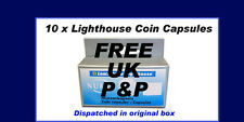 10 BOXED LIGHTHOUSE Capsules - CAPS 22.5 FULL Sovereign