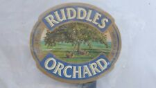 More details for ruddles orchard english ale brewery advertising pump clip