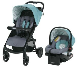 Graco Baby Verb Click Connect Travel System Stroller w/ Infant Car Seat Merrick