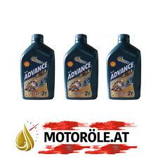 3 L Liter Shell Advance Ultra 2T vollsyn 2-Takt Mischöl