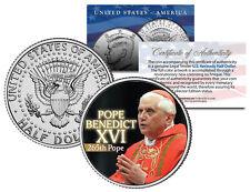 POPE BENEDICT XVI Colorized JFK Kennedy Half Dollar U.S. Coin * 265th Pope *