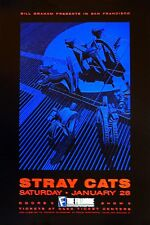 STRAY CATS Original 1989 CONCERT POSTER