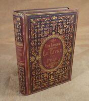 VICTOR LAPRADE - LE LIVRE D'UN PERE - EDITIONS HETZEL (VERS 1876)