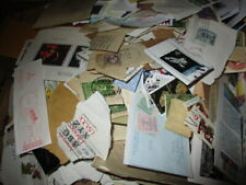 WORLDWIDE BOXLOT OVER 10 LBS OF STAMPS, ON PAPER, UNCHECKED, BOX 1