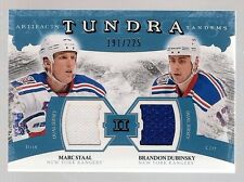 2011-12 UD Artifacts Hockey Tundra Tandems #TT2-DS #191/225 Staal Dubinsky