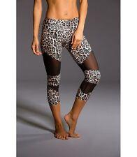 Onzie Hot Yoga Cut Out Capri 270 Leopard