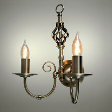 Wall chandeliers ebay traditional barley twist 2 way twin wall sconce light fitting chandelier lights antique brass mozeypictures Images