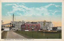 Postcard John Morrel & Co Packing Plant Sioux Falls SD