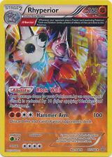 Pokemon Primal Clash Rhyperior - 77/160 - Rare Card