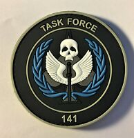 COD Task Force 141  PVC Patch Hook & Loop (Special Forces Green Beret Delta) 368