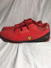 Puma  Ferrari Valorosso Lo SF Ferrari Webcage Racing Shoe All Red Mens US 11