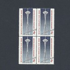 Seattle World's Fair 55 Year Old Vintage Mint Set of 4 Stamps!