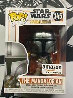 Funko Pop! Star War : The Mandalorian (Chrome) Amazon Exclusive - FAST SHIPPING