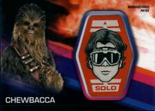 2018 Topps Star Wars Solo Movie Manufactured Patch #MP-CH Chewbacca Han Solo