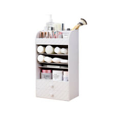 Cosmetic Makeup and Jewelry Storage Case Display Cosmetic Organizer for Bathroom