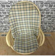 Swivel Handmade Wicker Rattan Rocking Chair
