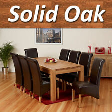 Dining Room Solid Wood Up to 8 Modern Table & Chair Sets