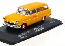 1 43 Minichamps Opel Rekord P1 Caravan Coca Cola 1958 Yellow/red