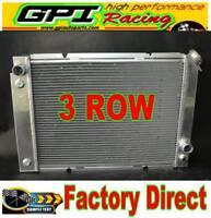Brand New Aluminum Radiator for Pontiac Fiero 2.5//2.8 I4//V6 84-88 3 Row Auto