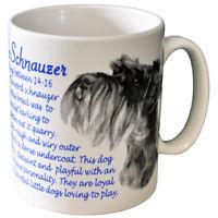 Schnauzer - Ceramic Coffee Mug - Dog Origins Breed