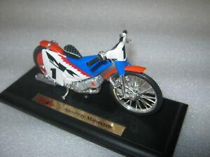 Speedway Motorrad GM 1:18 Sammlermodell NEU Maisto Rennmotorrad no Jawa Godden