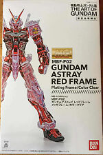 Bandai MG 1/100 MBF-P02 Astray Red Frame Tokyo Limited Gundam Clear Color Models