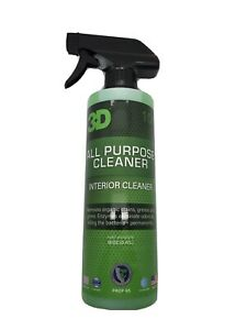 3D Products Car Care All Purpose Cleaner 104 APC Interior Exterior 470ml