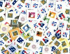 USA7 (2-LB) ON PAPER BULK RATE stamps as received! (KILOWARE) FREE SHIP IN USA