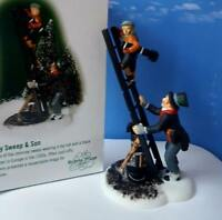 DEPT 56 Dickens Village CHIMNEY SWEEP & SON!  New, Hard To Find