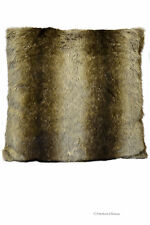 """15.8"""" Square Faux Fur Decorative Throw Occasional Pillow Cushion Cover"""