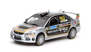 1/43 Mitsubishi  Lancer Evo IX  Rally 1000 Lakes Finland 2008  J.Hanninen