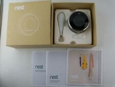 Google Nest Learning Thermostat, 3rd Gen, Stainless Steel