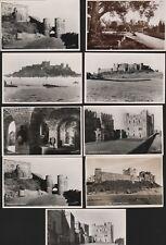 Northumberland BAMBURGH CASTLE Vintage Postcards RN.544