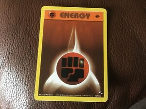 POKEMON RARE 1st EDITION ENERGY BROWN CARD COLLECTORS VGC UNPLAYED 127/132