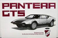 1974 Pantera GTS By Ghia Lincoln Mercury Dealer Sales Brochure Folder