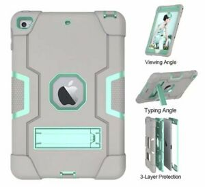 Case For iPad Mini 4 /5 , High Impact Resistant Shockproof Silicon Armor Hybrid
