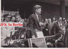 JOHN F. KENNEDY 23 rare photos of his trip to Berlin, original JFK memorabilia