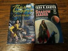 Lot of 2 Tara K. Harper paperbacks, Shadow Leader, GrayHeart