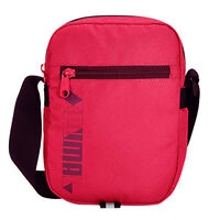 Puma Pioneer Portable Womens Bag Cross Body Small Shoulder Pink 072579 04 CC4