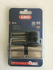 ABUS XP10 Nickel Tür- Profilzylinder XP10NM 35/35, Sicherheit8 , CodeCard