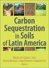 Carbon Sequestration in Soils of Latin America-ExLibrary