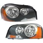 Headlight Set For 2003-2014 Volvo XC90 Left and Right With Bulb 2Pc